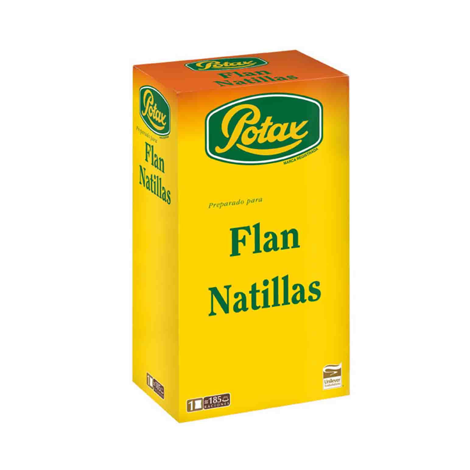 FLAN/NATILLAS POTAX C/ 12 EST