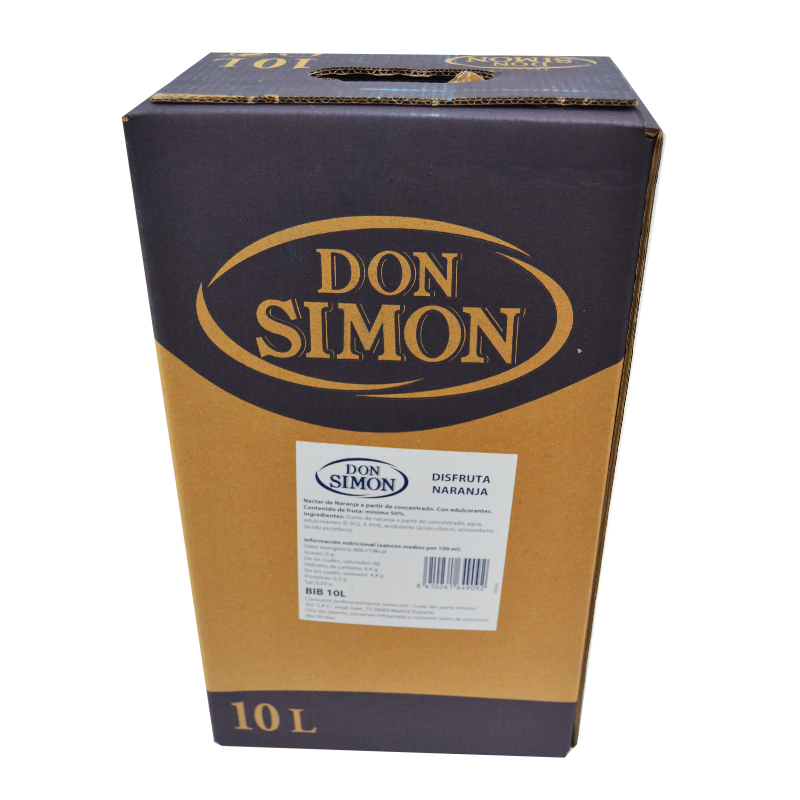 NECTAR NARANJA DON SIMON BOX 10L.