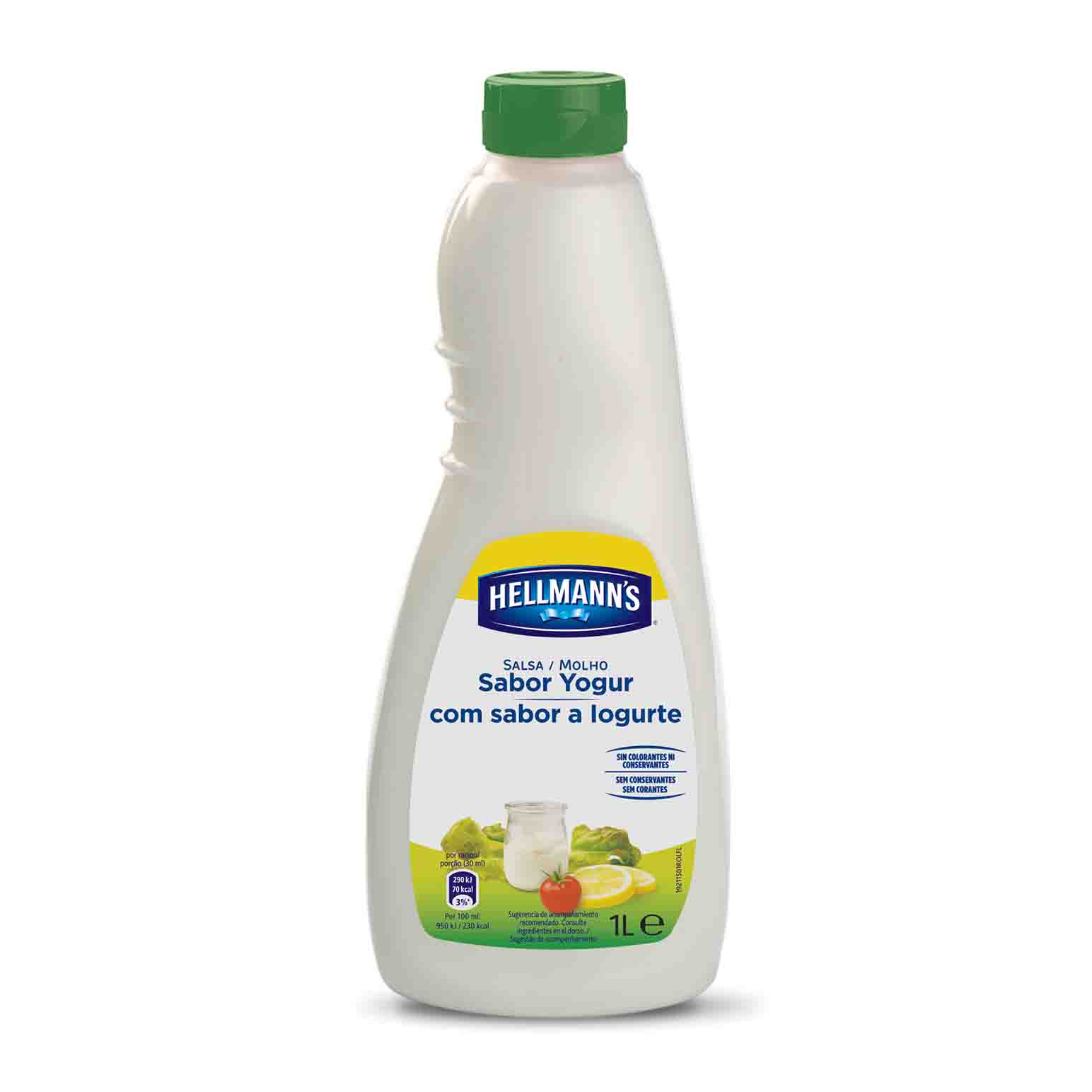 SALSA SALAD YOGURT CALVE 1L