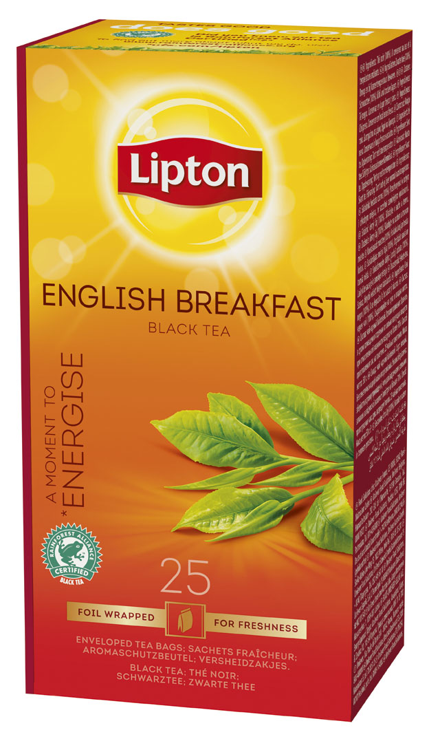 TE NEGRO ENGLISH BREAKFAST 6X25 SOBRES
