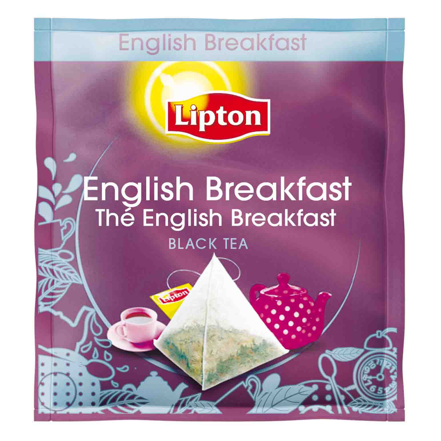 TE NEGRO ENGLISH BREAKFAST 25 PI.X6