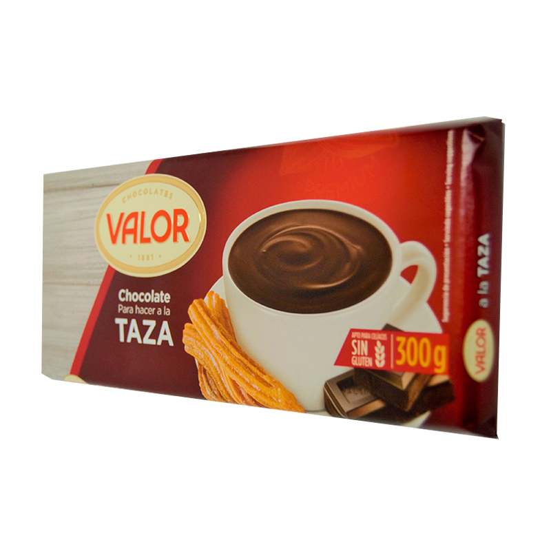 CHOCOLATE A LA TAZA 300GR VALOR (20UND)