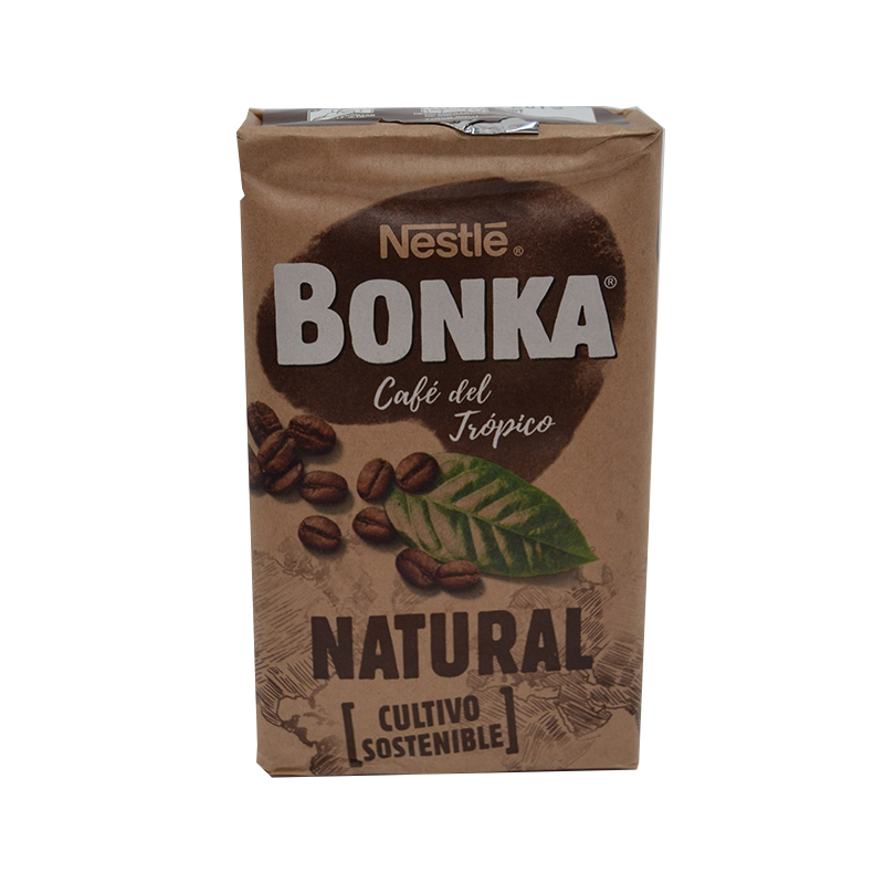 CAFE BONKA MOLIDO NATURAL 8*250GRS