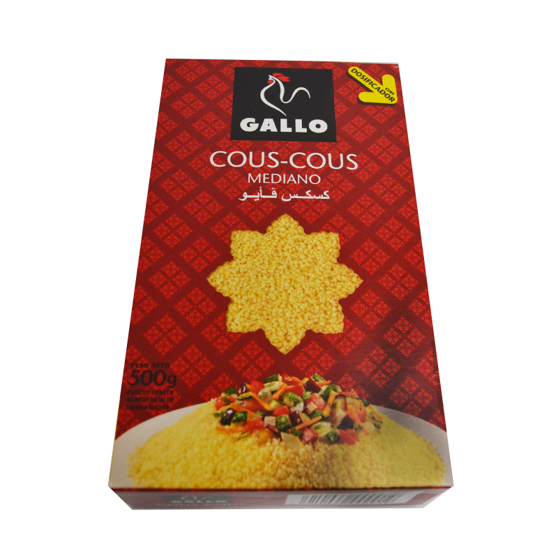 COUS COUS MEDIANO 500GR
