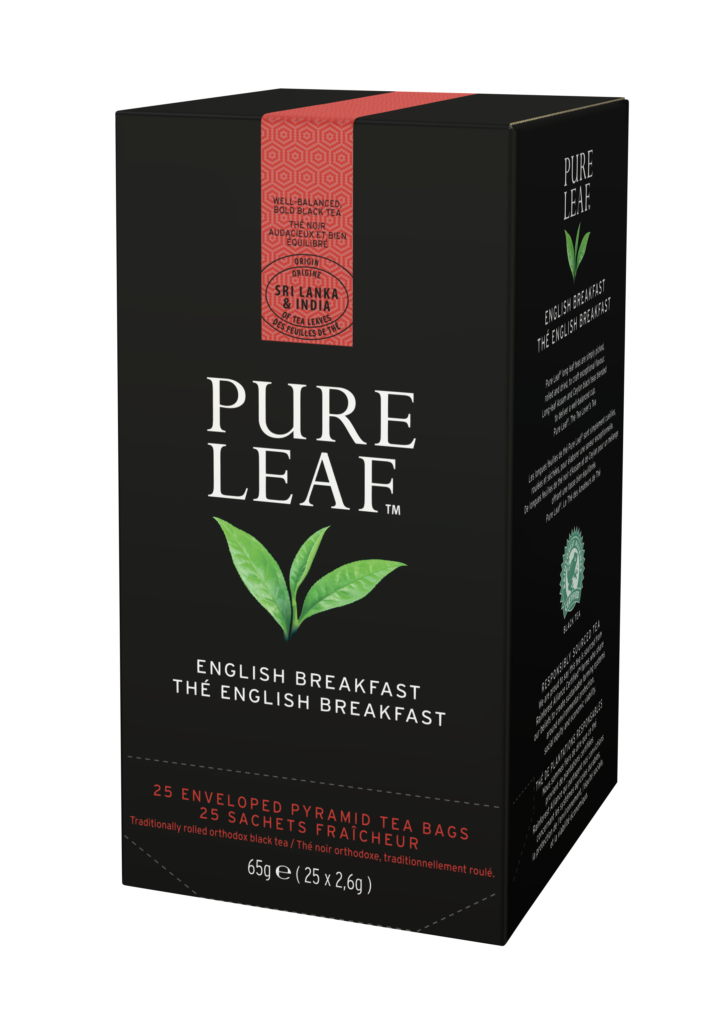 TE PURE LEAF ENGLISH BREAKFAST 25S.