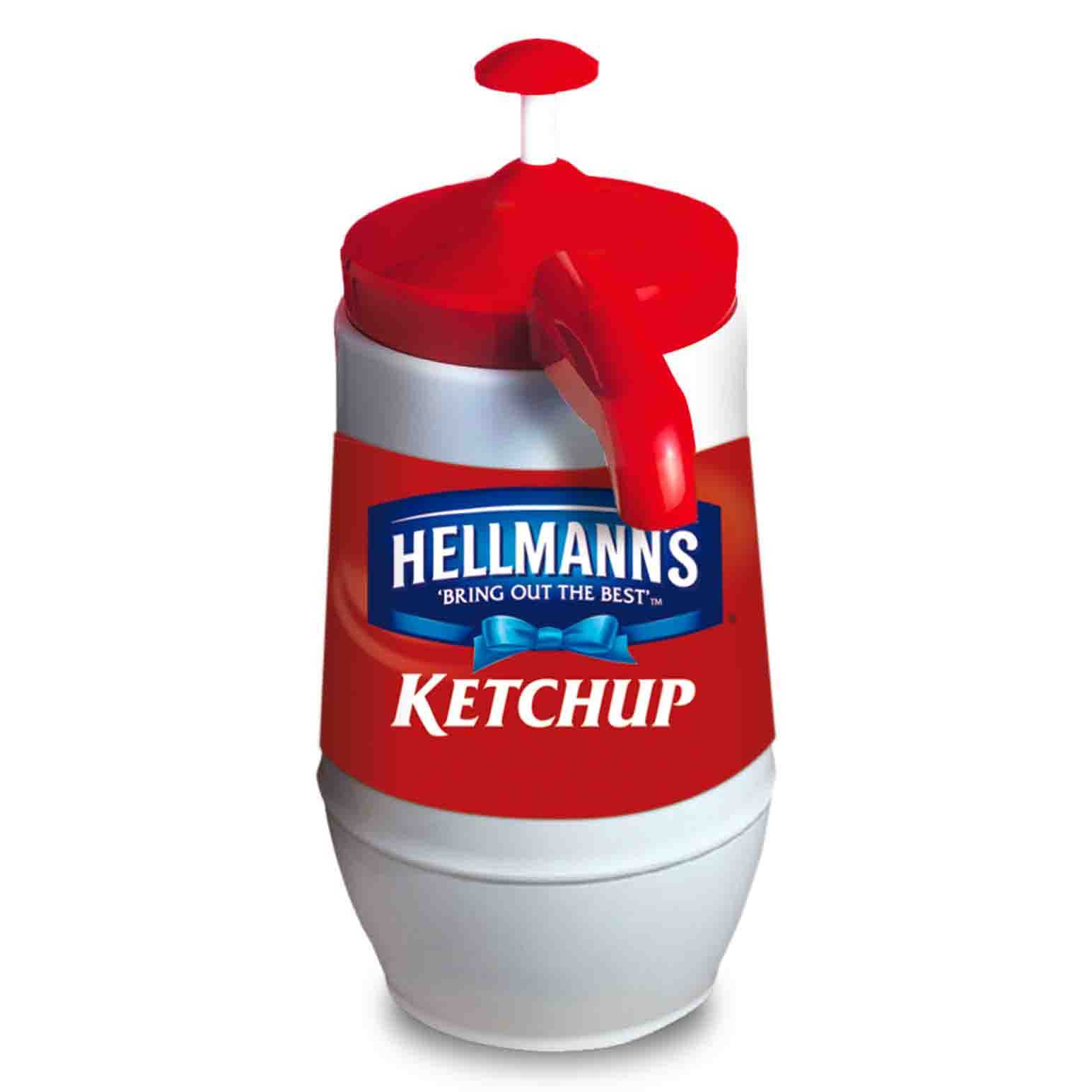 KETCHUP PRESS BOLSA 2.25KG HLMNS X6