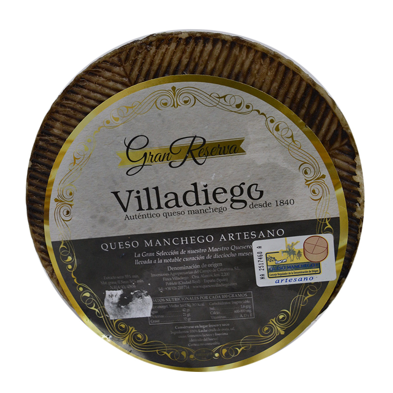 QUESO GRAN RESERVA VILLADIEGO DO